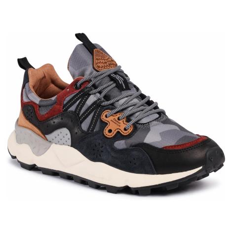 Sneakersy FLOWER MOUNTAIN - Yamano 3 Man 0012015422.02.1C91 Navy/Multi