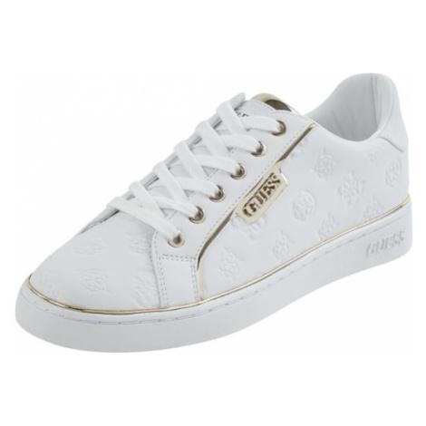 Sneakersy ze wzorem z logo model 'Banq' Guess