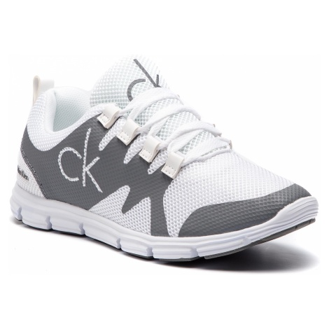 Sneakersy CALVIN KLEIN JEANS - Murphy SE8525 White/Grey