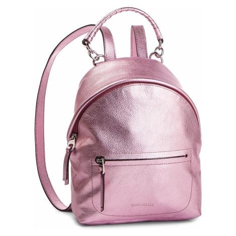 Plecak COCCINELLE - DN0 Leonie E1 DN0 54 03 01 Bubble Gum Met P12