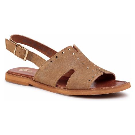 Sandały NESSI - 20708 Camel DM