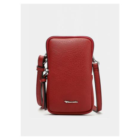 Tamaris czerwony crossbody 2w1 mała torebka