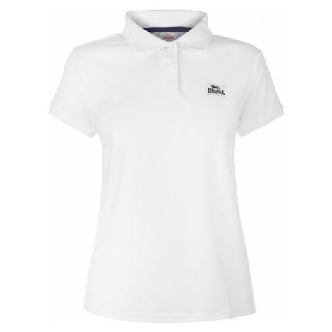 Lonsdale Lion Polo Shirt Ladies