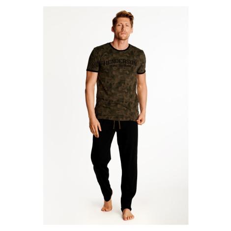 Brązowo-czarna piżama Okay Henderson