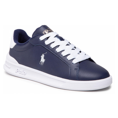 Sneakersy POLO RALPH LAUREN - Hrt Ct II 809829825003 Nvy/Wht