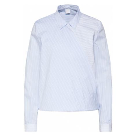 BOSS Bluzka 'Clessil' niebieski / biały Hugo Boss