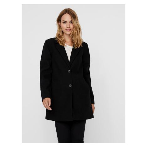Czarny płaszcz VERO MODA Daphne