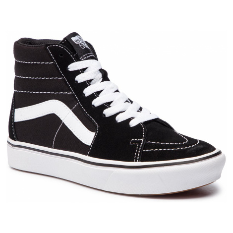 Sneakersy VANS - Comfycush Sk8-Hi VN0A3WMBVNE1 (Classic) Black/True Whit