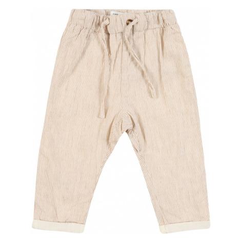 NAME IT Spodnie 'FASAN' kremowy / beżowy