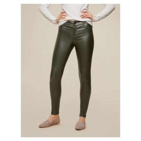 Dorothy Perkins khaki skinny fit spodnie
