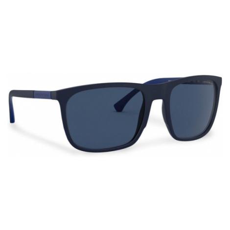 Emporio Armani Okulary przeciwsłoneczne 0EA4133 575480 Granatowy