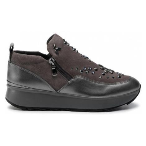 Geox Sneakersy D Gendry C D945TC 022NF C9F1G Szary