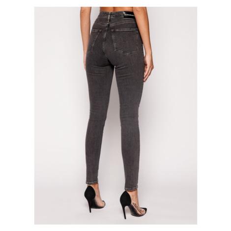 Calvin Klein Jeans Jeansy Slim Fit J20J207768 Szary Skinny Fit