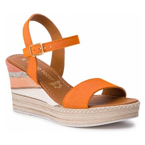 Sandały MARCO TOZZI - 2-28347-22 Orange 606