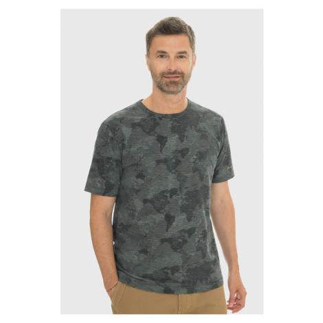 Szaroniebieski T-shirt Bushman Clare