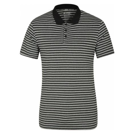 Bounce Stripe II IscoCool - męska koszulka polo - Black