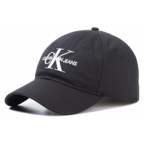 Czapka z daszkiem CALVIN KLEIN JEANS - J Monogram Cap With Embroidery K50K505320 BAE