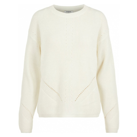 PIECES Sweter biały