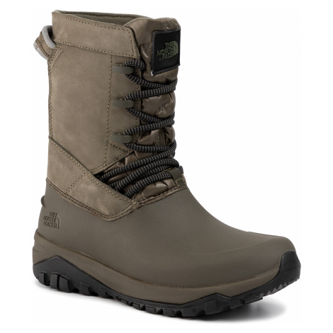 Śniegowce THE NORTH FACE - Yukiona Mid Boot T93K3BBQW New Taupe Green/Tnf Black