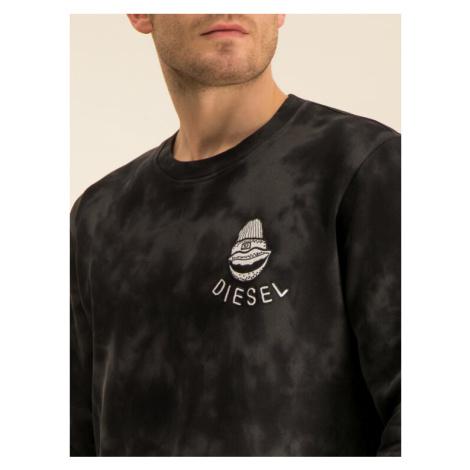 Diesel Bluza Justy-B 00SSJF 0WAWC Zielony Regular Fit