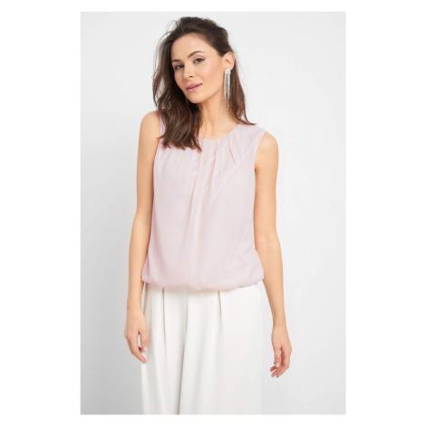 Brokatowa bluzka Orsay