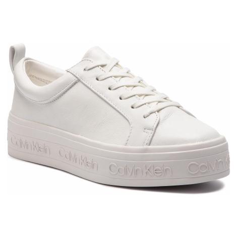 Sneakersy CALVIN KLEIN - Jaelee E4449 White
