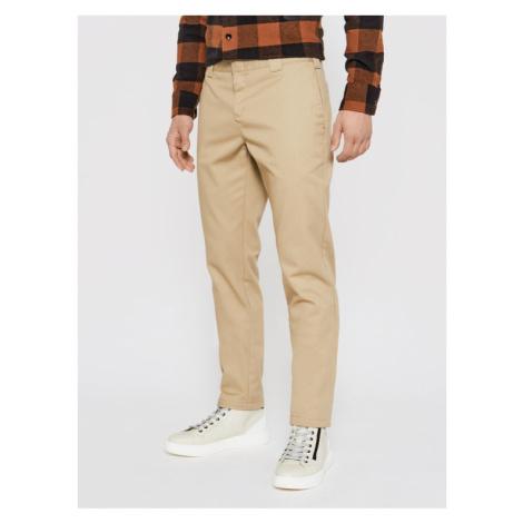 Dickies Spodnie materiałowe Work DK0WE872 Beżowy Slim Fit