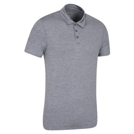 Męskie polo Deuce Isocool - Grey