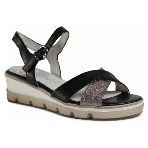 Sandały MARCO TOZZI - 2-28779-24 Black Comb 098