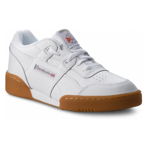 Buty Reebok - Workout Plus CN2243 White/Carbon/Red Gum