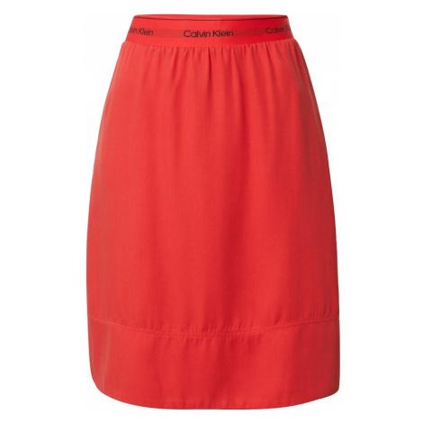 Calvin Klein Spódnica pomarańczowy