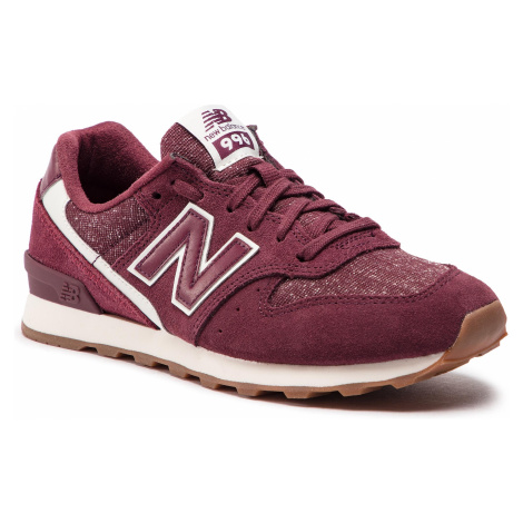 Sneakersy NEW BALANCE - WR996TA Bordowy