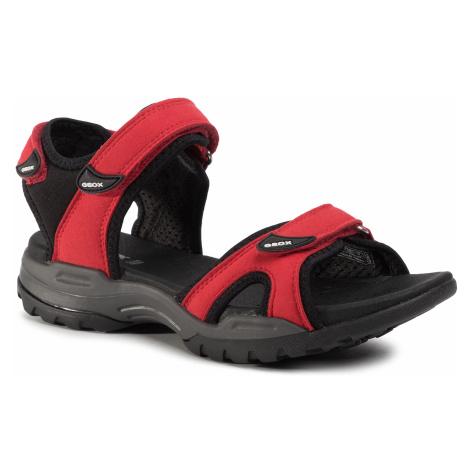 Sandały GEOX - D Borealis A D92DWA 0AU15 C0020 Red/Black