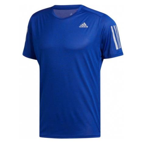 adidas RS COOLER SS M niebieski S - Koszulka do biegania męska
