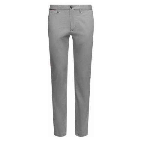 Tommy Hilfiger Spodnie materiałowe Denton MW0MW12588 Szary Straight Fit