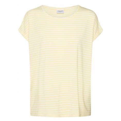 VERO MODA Koszulka kremowy / żółty