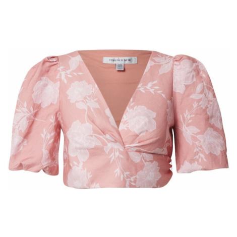 Forever New Bluzka różowy pudrowy / biały