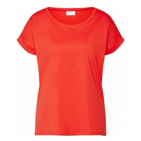 VILA Koszulka 'Dreamers' czerwony