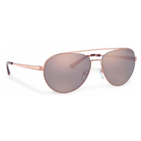 Michael Kors Okulary przeciwsłoneczne Aventura 0MK1071 11084Z Złoty