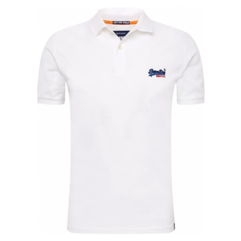 Superdry Koszulka 'Mercerised Lite City' biały