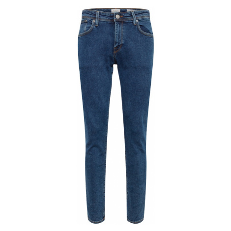 SELECTED HOMME Jeansy 'SLHSLIM-LEON 3010 M.BLUE ST JEANS W NOOS' niebieski denim