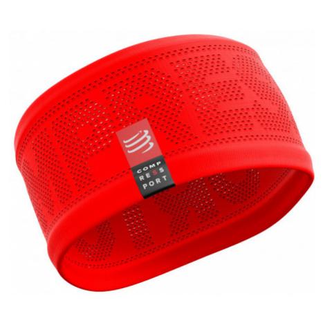 Opaska Na Głowę Compressport Headband V2 On/Off Czerwona