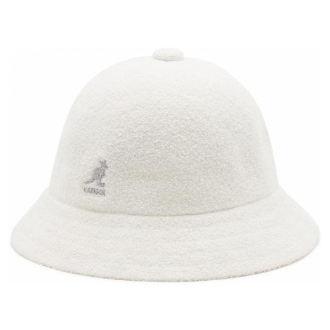 Kapelusz KANGOL - Bucket Bermuda Casual 0397BC White WH103
