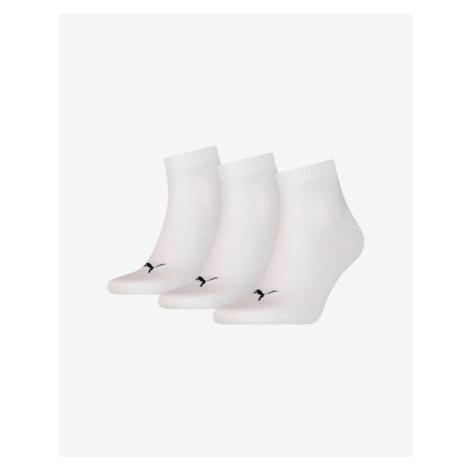 Puma 3-pack Skarpetki Biały