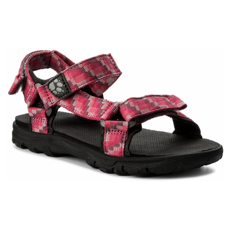 Sandały JACK WOLFSKIN - Seven Seas 2 Sandal G 4029961 S Tropic Pink