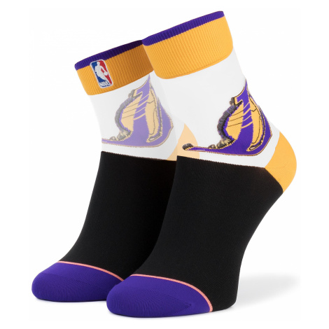 Skarpety Wysokie Damskie STANCE - Lakers Anklet W419C18LAK r.35/42 Yellow