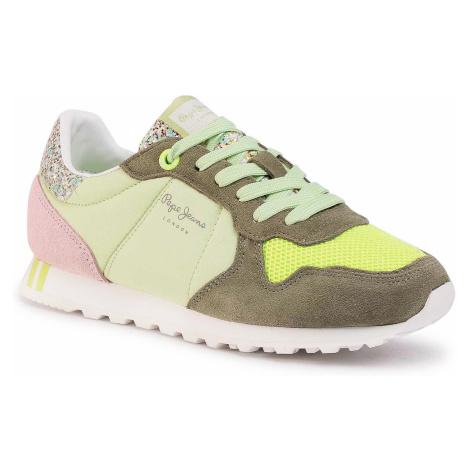 Sneakersy PEPE JEANS - Verona W Smile PLS31006 Pistachio 616