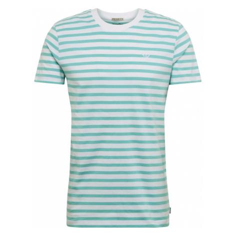 TOM TAILOR DENIM Koszulka biały / aqua