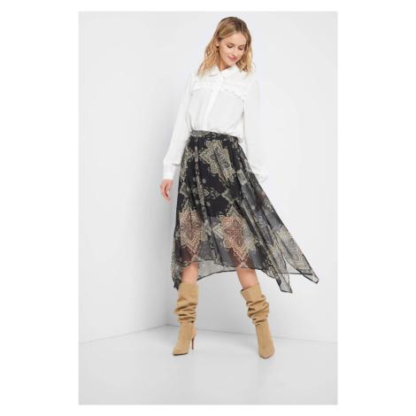Asymetryczna spódnica midi Orsay