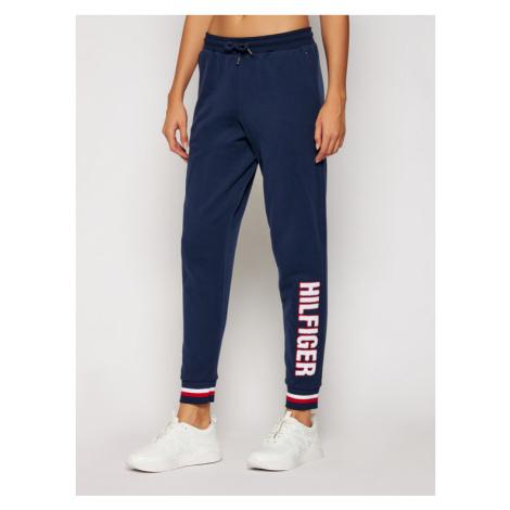 Tommy Jeans Spodnie dresowe Track UW0UW02656 Granatowy Regular Fit Tommy Hilfiger